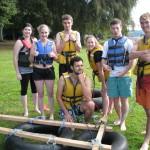 RYLA 2016 - Rotary Youth Leadership Awards - raft building