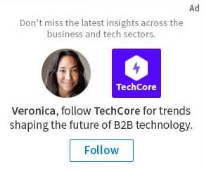 LinkedIn advertising - dynamic ads
