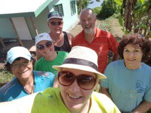 Rachel Warrender and the Taveuni Volunteers