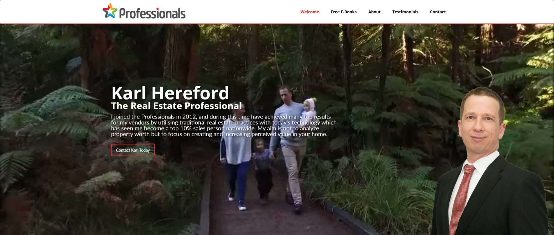 Karl Hereford – The Real Estate Professional